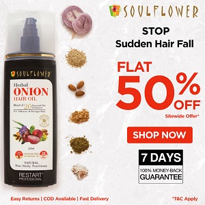 Flat 50%+Extra 10% Off